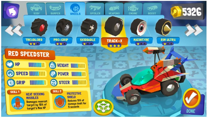 Battle Racers Competitive Racing