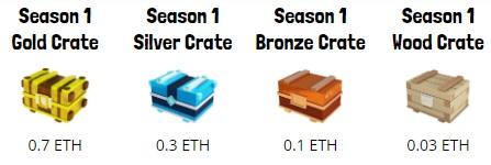 Battle Racers Season 1 Crates