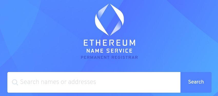 Ethereum Name Service – ENS