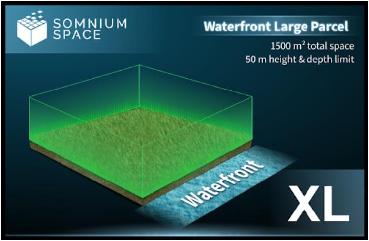 Somnium Space Waterfront Parcels