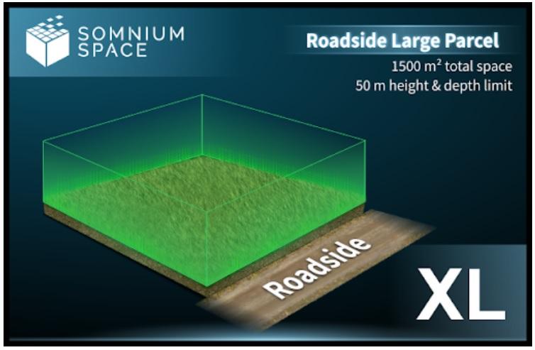 Somnium Space XL Parcels
