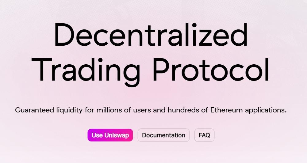 Using Uniswap Decentralized Trading Protocol