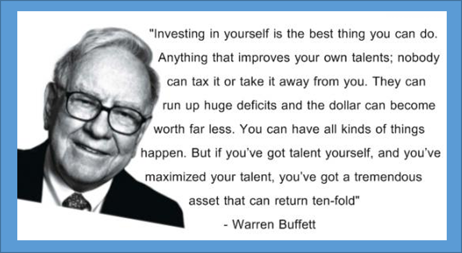 Warren Buffet Quote - Chris Bell